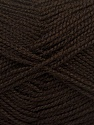Fiber Content 100% Acrylic, Brand Ice Yarns, Dark Brown, Yarn Thickness 1 SuperFine  Sock, Fingering, Baby, fnt2-40051