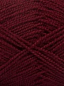 Fiber Content 100% Acrylic, Brand Ice Yarns, Burgundy, Yarn Thickness 1 SuperFine  Sock, Fingering, Baby, fnt2-40061