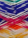 Fiber Content 50% Acrylic, 50% Polyamide, Yellow, Purple, Phosphoric Orange, Brand Ice Yarns, Green, Fuchsia, Yarn Thickness 2 Fine  Sport, Baby, fnt2-40198