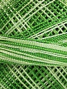 Fiber Content 100% Micro Fiber, Brand Ice Yarns, Green Shades, Yarn Thickness 0 Lace  Fingering Crochet Thread, fnt2-40204