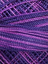 Fiber Content 100% Micro Fiber, Purple Shades, Brand Ice Yarns, Yarn Thickness 0 Lace  Fingering Crochet Thread, fnt2-40211