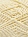 Fiber Content 100% Polyamide, Brand Ice Yarns, Cream, Yarn Thickness 3 Light  DK, Light, Worsted, fnt2-40617