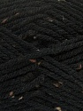 Fiber Content 72% Acrylic, 3% Viscose, 25% Wool, Brand Ice Yarns, Black, Yarn Thickness 6 SuperBulky  Bulky, Roving, fnt2-40833
