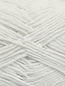 Please note that the yarn weight and the ball length may vary from one color to another for this yarn. Fiber Content 100% Cotton, White, Brand Ice Yarns, Yarn Thickness 3 Light  DK, Light, Worsted, fnt2-40902