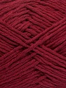 Please note that the yarn weight and the ball length may vary from one color to another for this yarn. İçerik 100% Pamuk, Brand ICE, Burgundy, Yarn Thickness 3 Light  DK, Light, Worsted, fnt2-40906