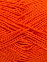 Please note that the yarn weight and the ball length may vary from one color to another for this yarn. İçerik 100% Pamuk, Orange, Brand ICE, Yarn Thickness 3 Light  DK, Light, Worsted, fnt2-40910
