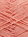 Please note that the yarn weight and the ball length may vary from one color to another for this yarn. İçerik 100% Pamuk, Light Salmon, Brand ICE, Yarn Thickness 3 Light  DK, Light, Worsted, fnt2-40917