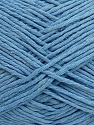 Please note that the yarn weight and the ball length may vary from one color to another for this yarn. İçerik 100% Pamuk, Brand ICE, Baby Blue, Yarn Thickness 3 Light  DK, Light, Worsted, fnt2-40920