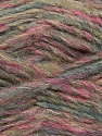 Fiber Content 43% Acrylic, 27% Polyamide, 15% Mohair, 15% Wool, Pink, Lilac, Brand Ice Yarns, Blue, Beige, Yarn Thickness 5 Bulky  Chunky, Craft, Rug, fnt2-41166