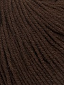 Fiber Content 60% Cotton, 40% Acrylic, Brand Ice Yarns, Dark Brown, Yarn Thickness 2 Fine  Sport, Baby, fnt2-42184