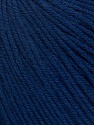 Fiber Content 60% Cotton, 40% Acrylic, Navy, Brand Ice Yarns, Yarn Thickness 2 Fine  Sport, Baby, fnt2-42185