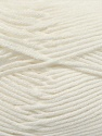 Fiber Content 50% Bamboo, 50% Cotton, White, Brand Ice Yarns, Yarn Thickness 2 Fine  Sport, Baby, fnt2-42207
