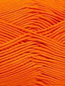Fiber Content 50% Bamboo, 50% Cotton, Orange, Brand Ice Yarns, Yarn Thickness 2 Fine  Sport, Baby, fnt2-42215