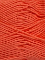 Fiber Content 50% Bamboo, 50% Cotton, Light Salmon, Brand Ice Yarns, Yarn Thickness 2 Fine  Sport, Baby, fnt2-42218