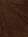 Knitted as 4 ply Fiber Content 40% Polyamide, 30% Kid Mohair, 30% Acrylic, Brand Ice Yarns, Brown, Yarn Thickness 1 SuperFine  Sock, Fingering, Baby, fnt2-42219
