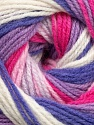 Fiber Content 100% Baby Acrylic, White, Pink, Lilac, Lavender, Brand Ice Yarns, Yarn Thickness 2 Fine  Sport, Baby, fnt2-42267