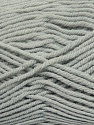 Fiber Content 100% Micro Acrylic, Light Grey, Brand Ice Yarns, Yarn Thickness 3 Light  DK, Light, Worsted, fnt2-42285