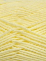 Fiber Content 100% Micro Acrylic, Brand Ice Yarns, Baby Yellow, Yarn Thickness 3 Light  DK, Light, Worsted, fnt2-42300