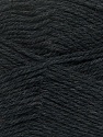 Fiber Content 100% Virgin Wool, Brand Ice Yarns, Anthracite Black, Yarn Thickness 3 Light  DK, Light, Worsted, fnt2-42304