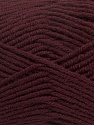 Fiber Content 50% Wool, 50% Acrylic, Maroon, Brand Ice Yarns, Yarn Thickness 4 Medium  Worsted, Afghan, Aran, fnt2-42537