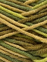 Fiber Content 80% Acrylic, 20% Wool, Brand Ice Yarns, Green Shades, Yarn Thickness 6 SuperBulky  Bulky, Roving, fnt2-42580
