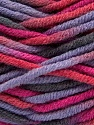 Fiber Content 80% Acrylic, 20% Wool, Pink, Lilac, Brand Ice Yarns, Grey, Yarn Thickness 6 SuperBulky  Bulky, Roving, fnt2-42583