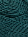 Fiber Content 50% Acrylic, 50% Cotton, Brand Ice Yarns, Dark Green, Yarn Thickness 2 Fine  Sport, Baby, fnt2-42592