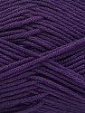 Fiber Content 50% Acrylic, 50% Cotton, Purple, Brand Ice Yarns, Yarn Thickness 2 Fine  Sport, Baby, fnt2-42593