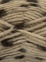 Make a knot on the spots part of the yarn while knitting to give a pompom look. Fiber Content 82% Acrylic, 18% Polyamide, Brand Ice Yarns, Camel, Brown, Yarn Thickness 5 Bulky  Chunky, Craft, Rug, fnt2-42688