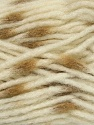 Make a knot on the spots part of the yarn while knitting to give a pompom look. Fiber Content 82% Acrylic, 18% Polyamide, White, Light Brown, Brand Ice Yarns, Yarn Thickness 5 Bulky  Chunky, Craft, Rug, fnt2-42689