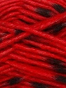 Make a knot on the spots part of the yarn while knitting to give a pompom look. Fiber Content 82% Acrylic, 18% Polyamide, Red, Brand Ice Yarns, Black, Yarn Thickness 5 Bulky  Chunky, Craft, Rug, fnt2-42695