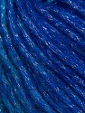 Fiber Content 8% Polyamide, 77% Acrylic, 15% Metallic Lurex, Turquoise, Silver, Brand Ice Yarns, Blue, Yarn Thickness 5 Bulky  Chunky, Craft, Rug, fnt2-42732