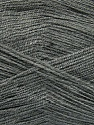 Very thin yarn. It is spinned as two threads. So you will knit as two threads. Yardage information is for only one strand. Fiber Content 100% Acrylic, Brand Ice Yarns, Grey, Yarn Thickness 1 SuperFine  Sock, Fingering, Baby, fnt2-42863