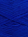 Very thin yarn. It is spinned as two threads. So you will knit as two threads. Yardage information is for only one strand. Fiber Content 100% Acrylic, Brand Ice Yarns, Blue, Yarn Thickness 1 SuperFine  Sock, Fingering, Baby, fnt2-42867