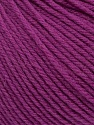 SUPERWASH WOOL is a DK weight 100% superwash wool yarn. Perfect stitch definition, and a soft-but-sturdy finished fabric. Projects knit and crocheted in SUPERWASH WOOL are machine washable! Lay flat to dry. Fiber Content 100% Superwash Wool, Purple, Brand Ice Yarns, Yarn Thickness 3 Light  DK, Light, Worsted, fnt2-42944
