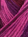 Fiber Content 100% Wool, Pink, Maroon, Brand Ice Yarns, Burgundy, Yarn Thickness 4 Medium  Worsted, Afghan, Aran, fnt2-42964