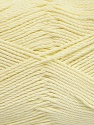 Fiber Content 50% Bamboo, 50% Viscose, Light Yellow, Brand Ice Yarns, Yarn Thickness 2 Fine  Sport, Baby, fnt2-43036