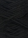Fiber Content 70% Acrylic, 30% Wool, Brand Ice Yarns, Black, Yarn Thickness 2 Fine  Sport, Baby, fnt2-43357