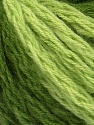 Fiber Content 70% Acrylic, 20% Wool, 10% Mohair, Brand Ice Yarns, Green Shades, Yarn Thickness 6 SuperBulky  Bulky, Roving, fnt2-43549