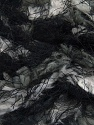 Fiber Content 100% Micro Fiber, Brand Ice Yarns, Grey Shades, Black, Yarn Thickness 6 SuperBulky  Bulky, Roving, fnt2-43581