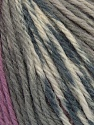 Fiber Content 100% Merino Wool, White, Maroon, Lilac, Brand Ice Yarns, Grey, Yarn Thickness 4 Medium  Worsted, Afghan, Aran, fnt2-43626