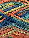 Fiber Content 100% Cotton, Turquoise, Salmon, Orange, Brand Ice Yarns, Green, Blue, fnt2-43631
