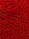 Machine washable. Lay flat to dry Fiber Content 80% Superwash Virgin Wool, 20% Acrylic, Red, Brand Ice Yarns, Yarn Thickness 3 Light  DK, Light, Worsted, fnt2-43682