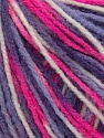 Fiber Content 100% Acrylic, White, Pink, Lilac, Brand Ice Yarns, Yarn Thickness 2 Fine  Sport, Baby, fnt2-43699