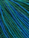 Fiber Content 100% Acrylic, Turquoise, Brand Ice Yarns, Green, Blue, Yarn Thickness 2 Fine  Sport, Baby, fnt2-43705