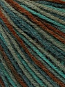 Fiber Content 100% Acrylic, Mint Green, Brand Ice Yarns, Grey, Brown, Blue, Yarn Thickness 2 Fine  Sport, Baby, fnt2-43706