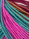 Fiber Content 100% Acrylic, Turquoise, Pink, Maroon, Light Brown, Brand Ice Yarns, Yarn Thickness 2 Fine  Sport, Baby, fnt2-43719