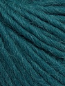 Fiber Content 50% Virgin Wool, 40% Alpaca, 10% Acrylic, Teal, Brand Ice Yarns, Yarn Thickness 5 Bulky  Chunky, Craft, Rug, fnt2-43734