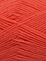 Machine washable. Lay flat to dry Fiber Content 60% Superwash Virgin Wool, 40% Acrylic, Salmon, Brand Ice Yarns, fnt2-43793