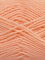 Machine washable. Lay flat to dry Fiber Content 60% Superwash Virgin Wool, 40% Acrylic, Light Salmon, Brand Ice Yarns, Yarn Thickness 2 Fine  Sport, Baby, fnt2-43794